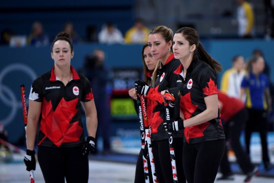 L'équipe féminine de curling... (Photo WANG Zhao, AFP)