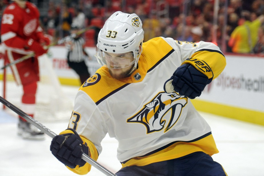 Viktor Arvidsson (33)... (Photo Jose Juarez, AP)