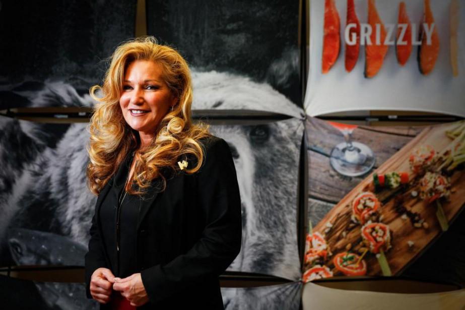 Laura Boivin, PDG de Fumoir Grizzly... (PHOTO MATHIEU BÉLANGER, COLLABORATION SPÉCIALE)