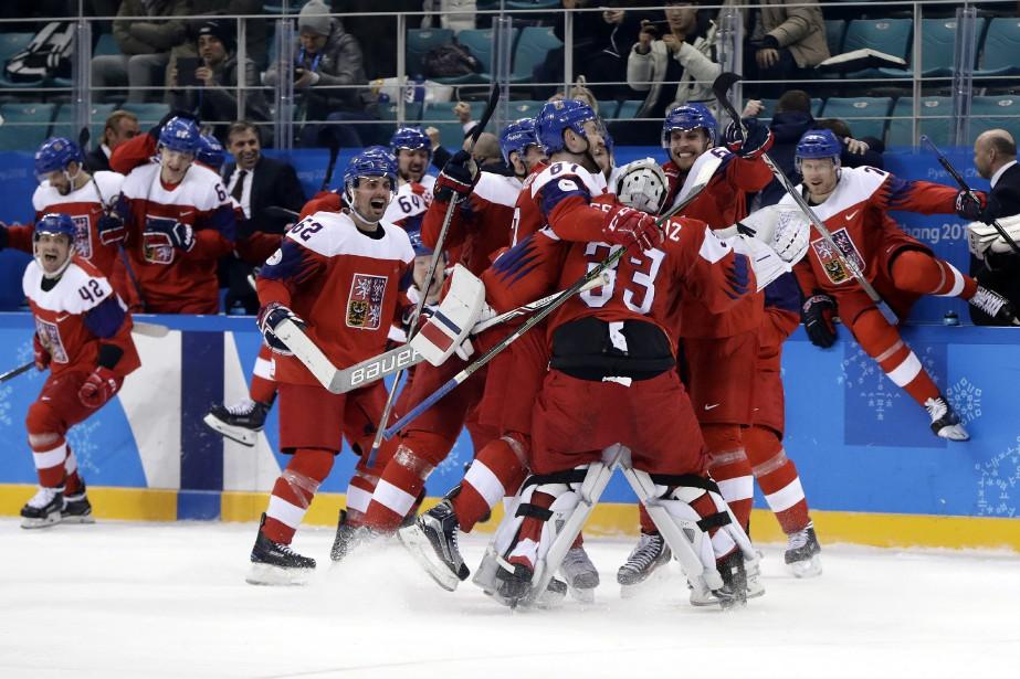 Les Tchèques affronteront en demi-finales le vainqueur du... (Photo Matt Slocum, AP)
