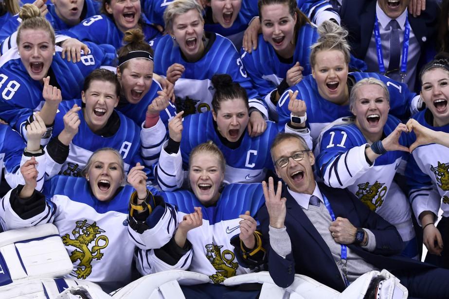 La Finlande avait déjà remporté la médaille de... (Photo Brendan Smialowski, Agence France-Presse)