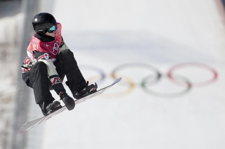 Max Parrot n'a pas attendu la seconde manche... (Photo Dmitri Lovetsky, Associated Press)