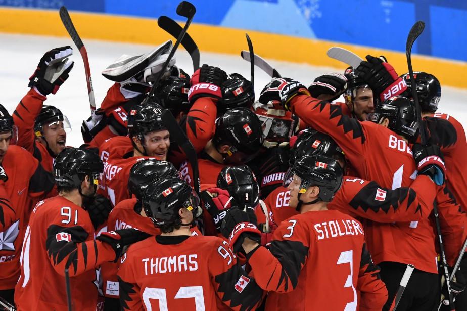 Le Canada affrontera l'Allemagne, tombeuse de la Suède... (Photo Kirill Kudryavstev, Agence France-Presse)