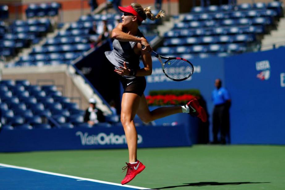 Eugenie Bouchard poursuit l'Association américaine de tennis (USTA)... (PhotoMike Segar, archives Reuters)