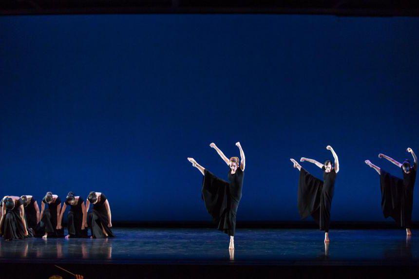 Chronicleest l'une des chorégraphies qui composent lespectacle Répertoire... (Photo Brigid Pierce Photography, fournie par Danse Danse)