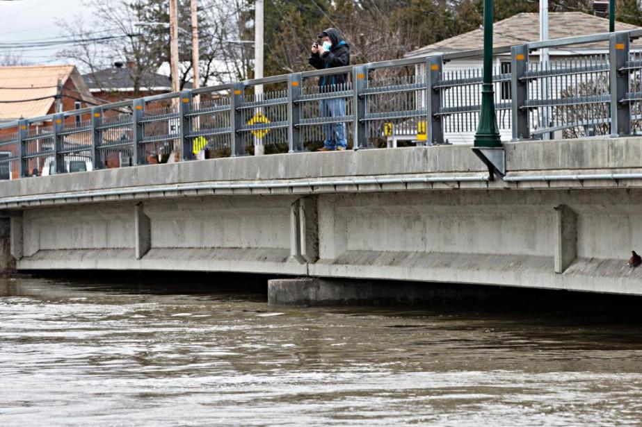 Plusieurs rivières du sud du Québec donnent des... (PHOTO PATRICK SANFAÇON, ARCHIVES LA PRESSE)