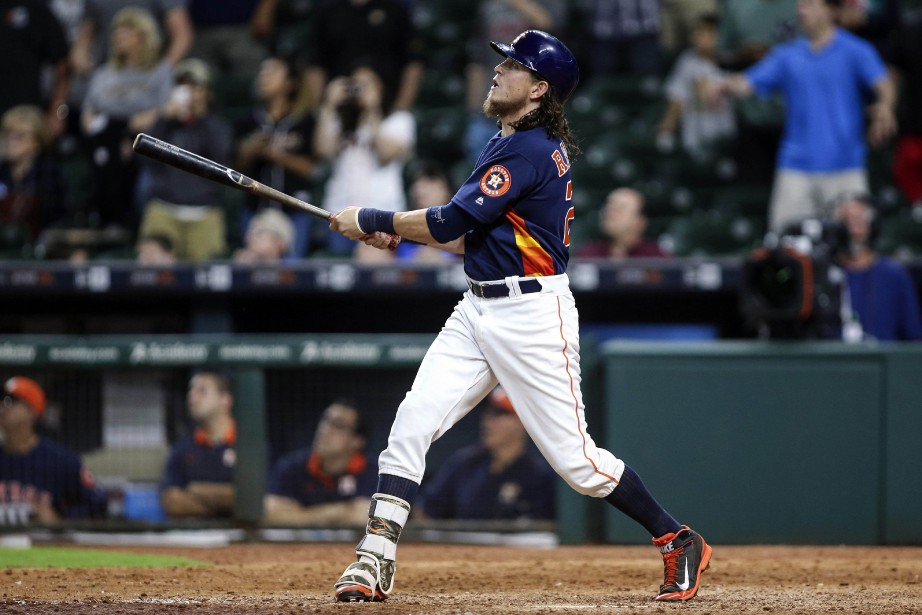 Colby Rasmus (28)... (Photo Troy Taormina, archives USA TODAY Sports)