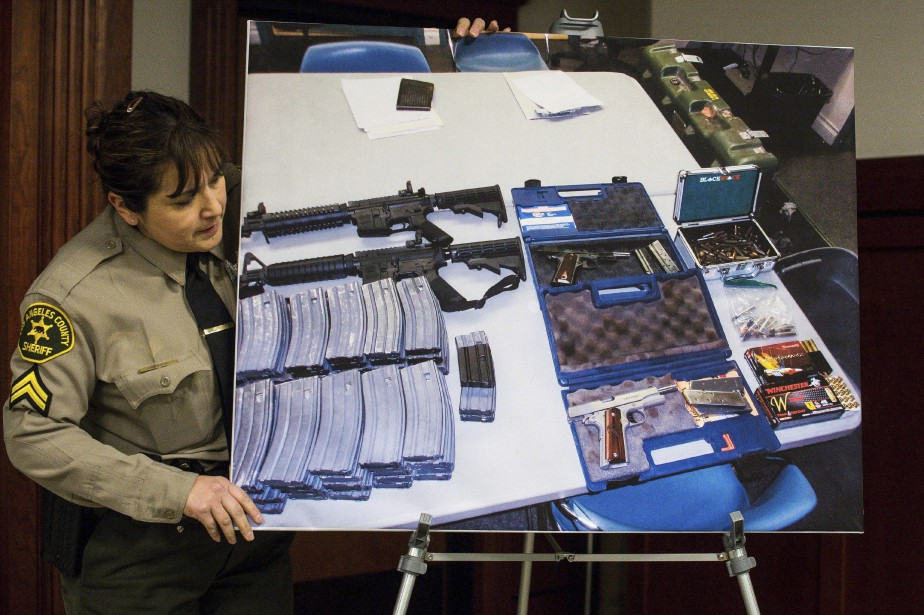 Au domicile de l'adolescent, les policiers ont trouvé... (PHOTO AP)