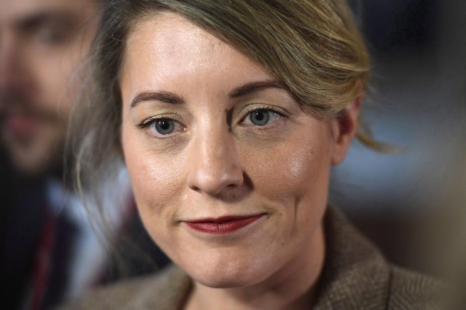 La ministre du Patrimoine Mélanie Joly.... (Photo Justin Tang, La Presse canadienne)