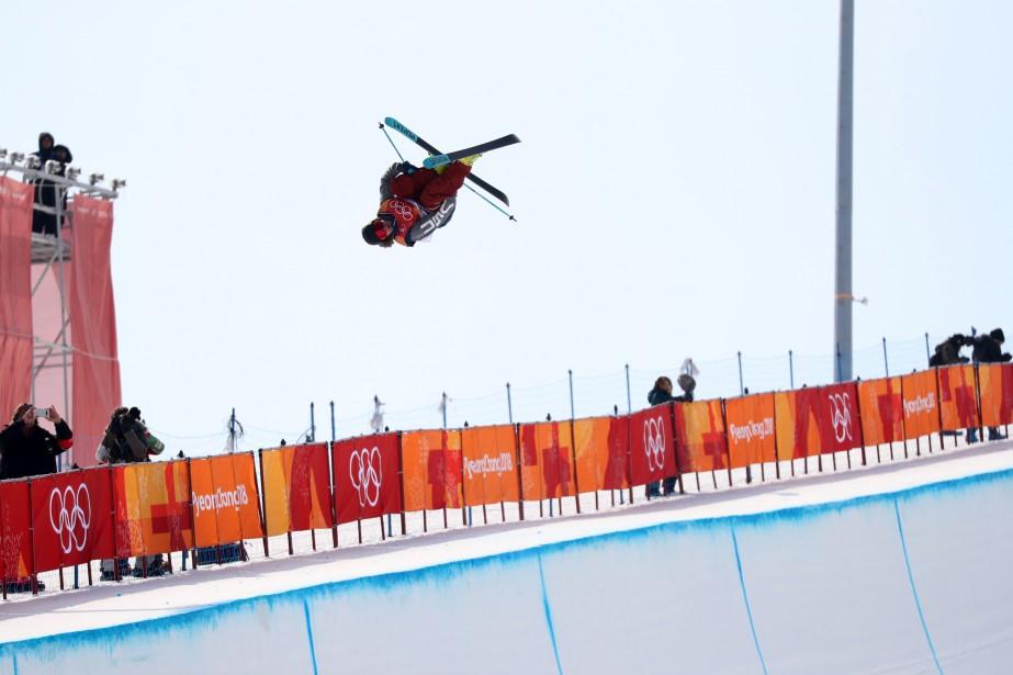 David Wise en action... (Photo Mike Blake, REUTERS)