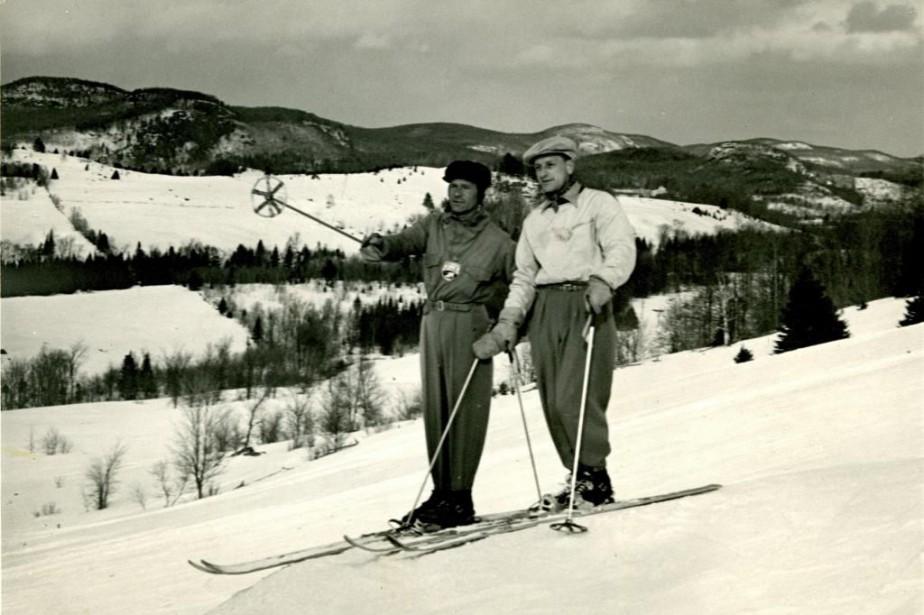 Les Laurentides et le ski sont tricotés serré... (Photo fournie par le Muséedu ski des Laurentides)