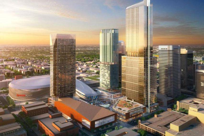 La construction immobilière va bon train à Edmonton,... (Illustration tirée du site de Stantec)