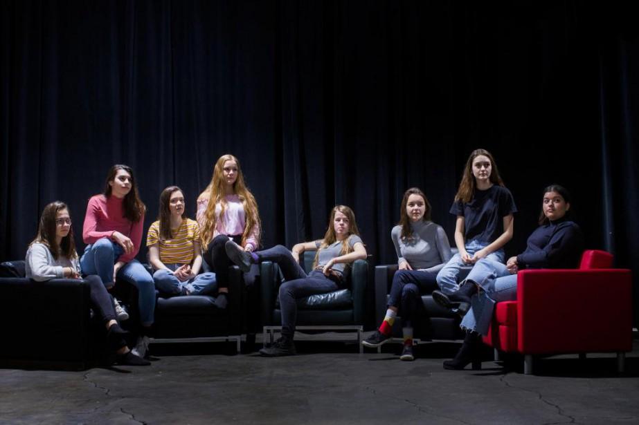Huit adolescentes ont rencontré notre journaliste pour parler... (PHOTO OLIVIER PONTBRIAND LA PRESSE)