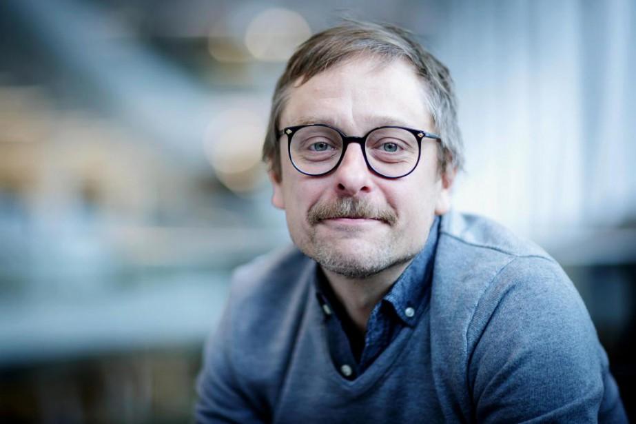 Jérémie McEwen enseigne la philosophie au cégep, fait... (PHOTO ALAIN ROBERGE, LA PRESSe)