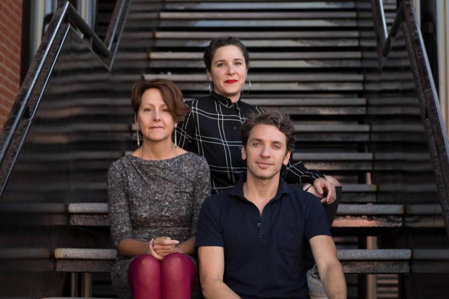 Les trois commissaires des expositions de la 10e... (Photo Mike Patten, fournie par Art souterrain)