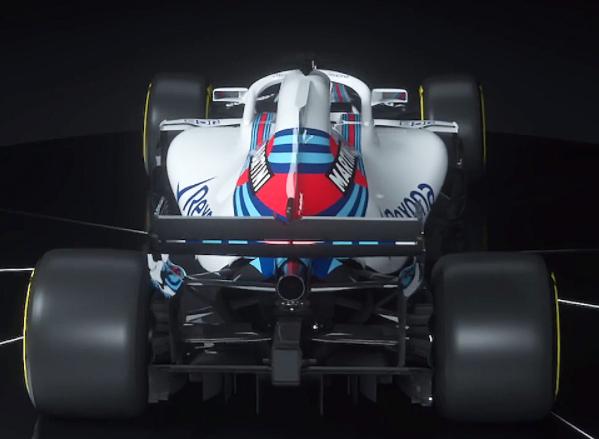 LaWilliams FW-41 de la saison 2018 de F1. | 22 février 2018