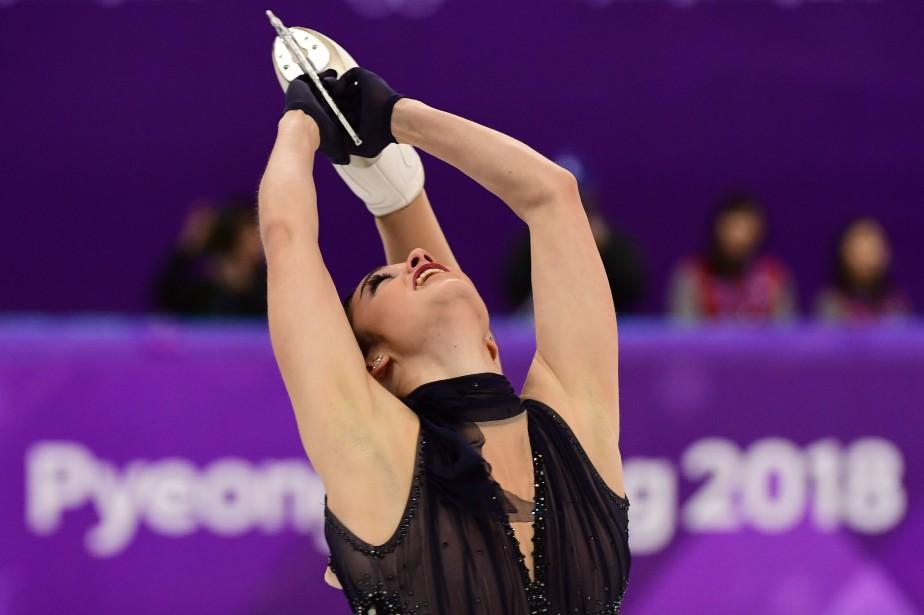 Kaetlyn Osmond... (Photo Roberto SCHMIDT, AFP)