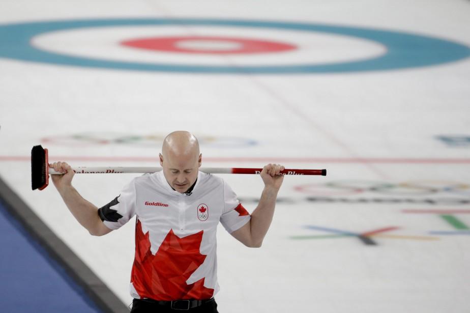 L'Albertain Kevin Koe (photo) s'est incliné 7-5 face... (Photo Natacha Pisarenko, Associated Press)