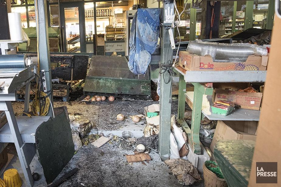 Le marché Atwater sera fermé au public pour... (Patrick Sanfaçon, La Presse)