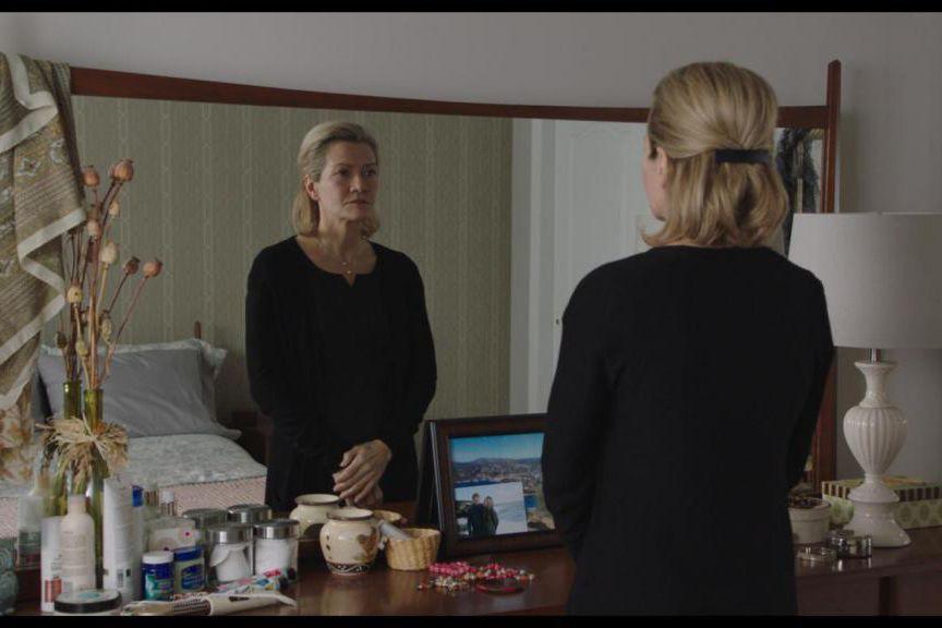 Élise Guilbault dans Pour vivre ici, un film... (Image fournie par Les Films Séville)