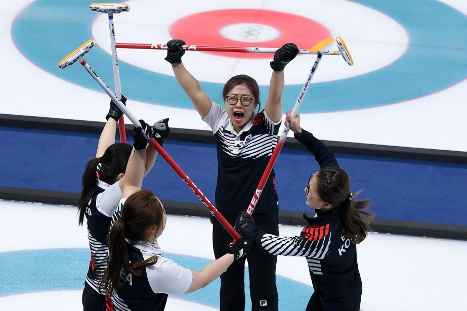 Les Sud-Coréennes sont déjà assurées de repartir avec... (Photo Wang Zhao, Agence France-Presse)