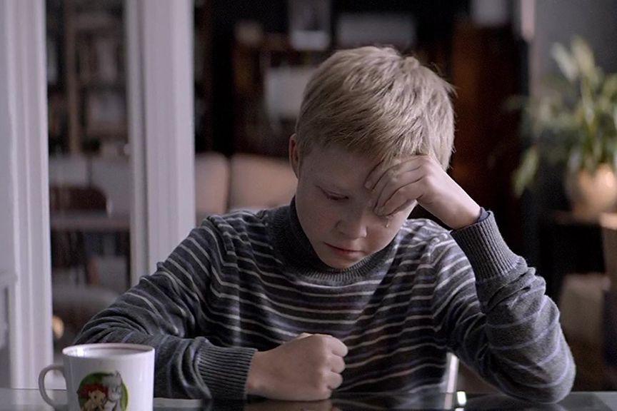 Le jeune Matvey Noviko dans Loveless (Faute d'amour)... (Image fournie par Métropole Films)