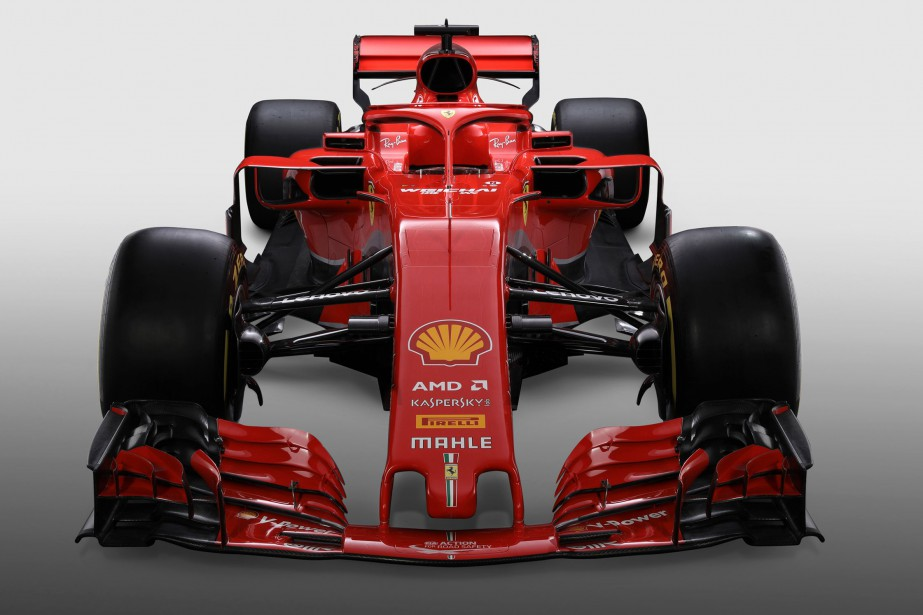 La Ferrari SF71H. | 23 février 2018