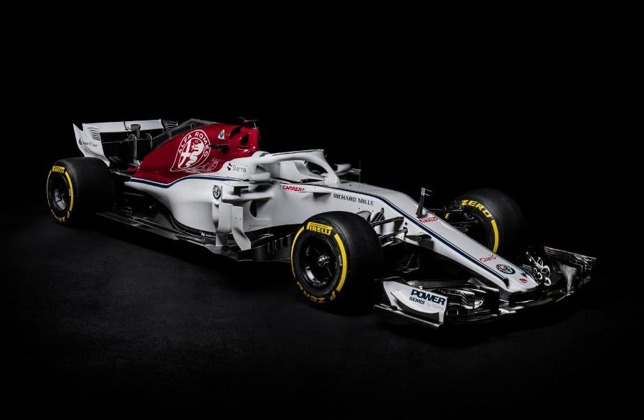 L'Alfa Romeo Sauber C37 | 23 février 2018