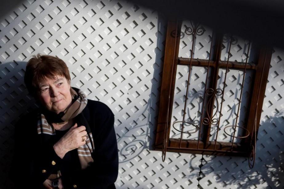 La poétesse, romancière et essayiste Nicole Brossard... (PhotoIvanoh Demers, Archives La Presse)