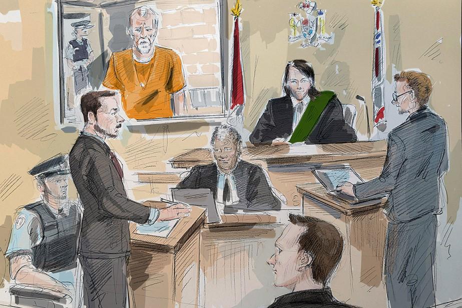 Dans cette image de la cour, Bruce McArthur... (Alexandra Newbould, archives PC)
