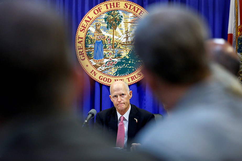 Le gouverneur républicain de Floride, Rick Scott.... (Colin Hackley, ARCHIVES REUTERS)