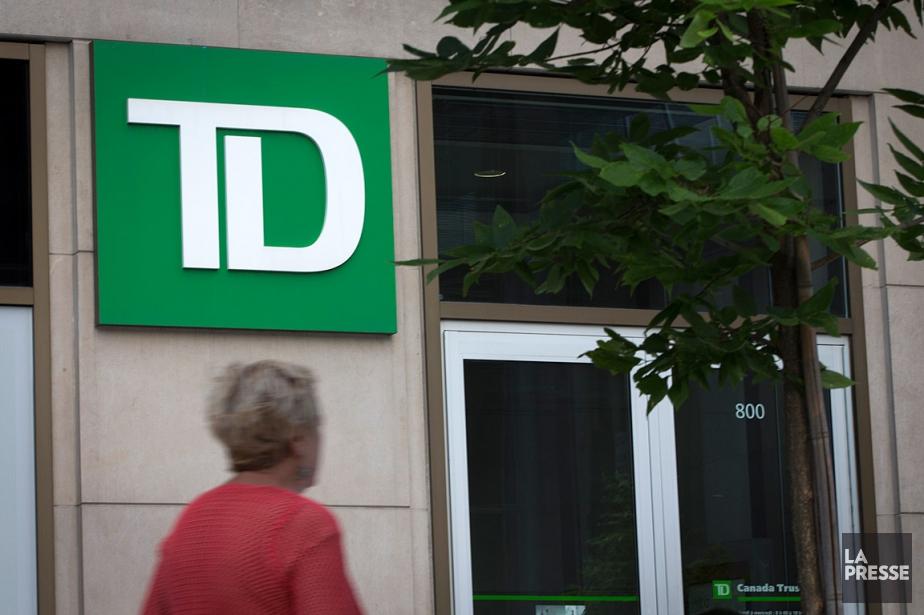 La Banque TDa expliqué que cette pause lui... (PHOTO IVANOH DEMERS, ARCHIVES LA PRESSE)