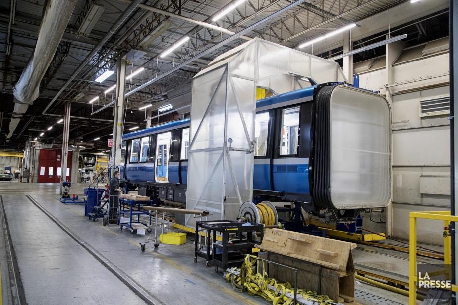 L'usine Bombardier de La Pocatière assemble notamment les... (Photo Alain Roberge, archives La Presse)