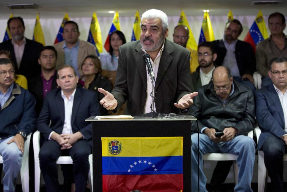 Le chef de l'État Nicolas Maduro avait appelé... (Photo Ariana Cubillos, AP)