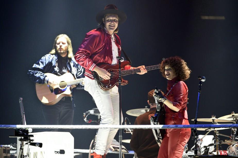 Le groupe Arcade Fire... (Photo Chris Pizzello, archives Invision/AP)