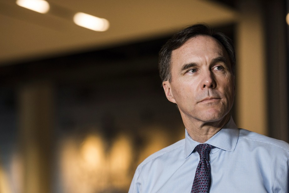 Le ministre fédéral des Finances Bill Morneau... (PHOTO Christopher Katsarov, LA PRESSE CANADIENNE)