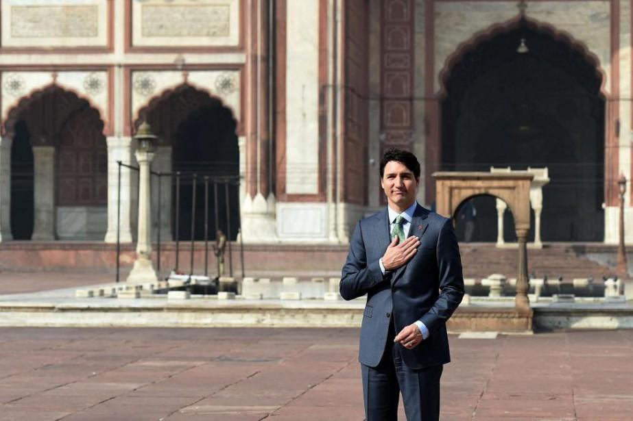 La visite du premier ministre Justin Trudeau en... (PHOTOPRAKASH SINGH, AGENCE FRANCE-PRESSE)