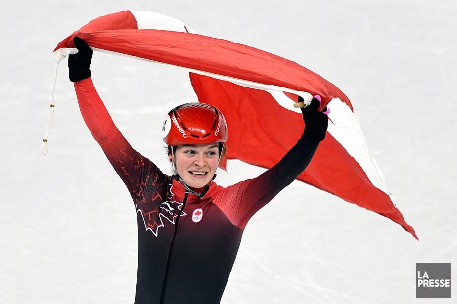 Kim Boutins'est révélée l'étoile canadienne en patinage de... (PHOTO BERNARD BRAULT, LA PRESSE)