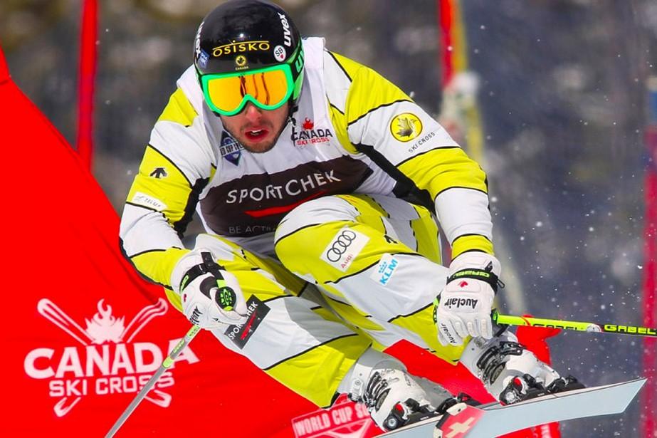 L'athlète de ski cross Dave Duncan, son épouse... (PHOTO TIRÉE DU SITE OLYMPIQUE.CA)