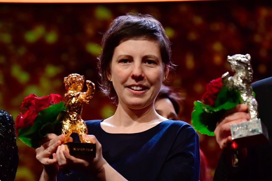 Le réalisatrice Adina Pintilie... (PHOTO Tobias SCHWARZ, AFP)