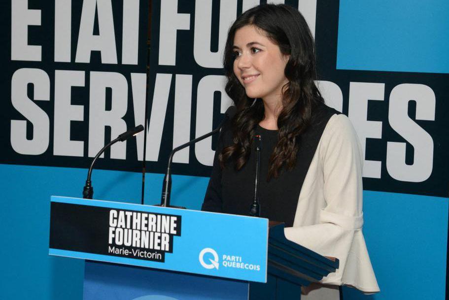 Catherine Fournier a remporté hier l'investiture péquiste dans... (Photo fournie par le Parti québécois)
