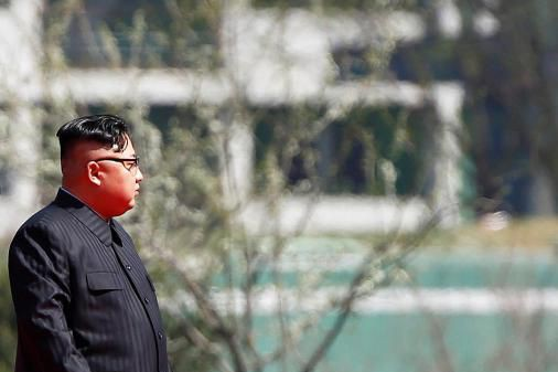 Kim Jong-un... (Photo Damir Sagolj, Archives Reuters)