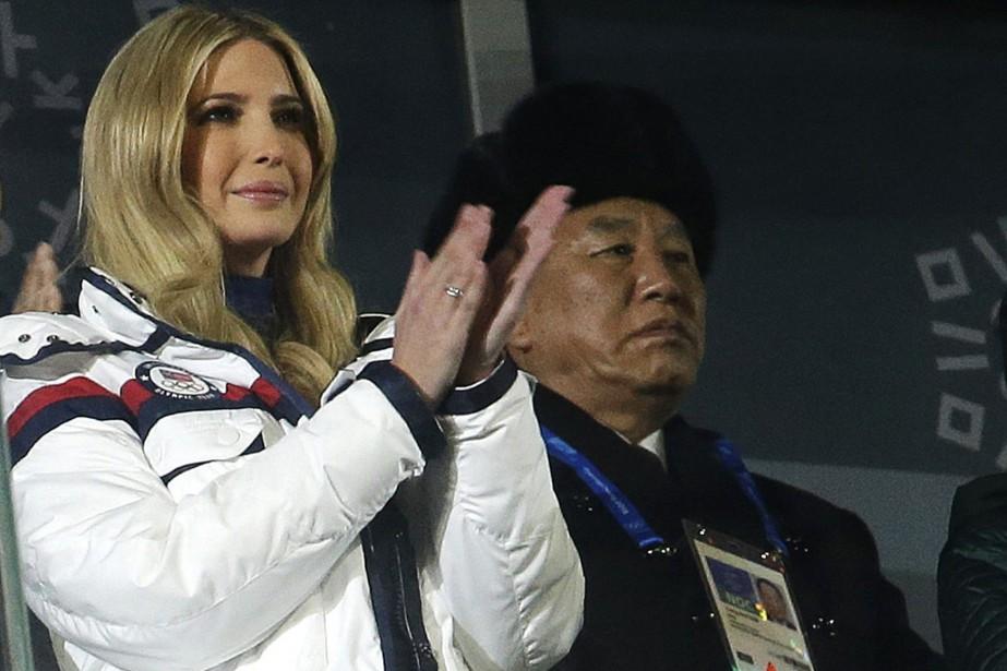 Ivanka Trump et Kim Yong Chol.... (PHOTO AP)