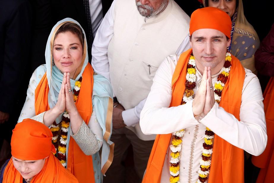 Justin Trudeau et Sophie Grégoire... (REUTERS)