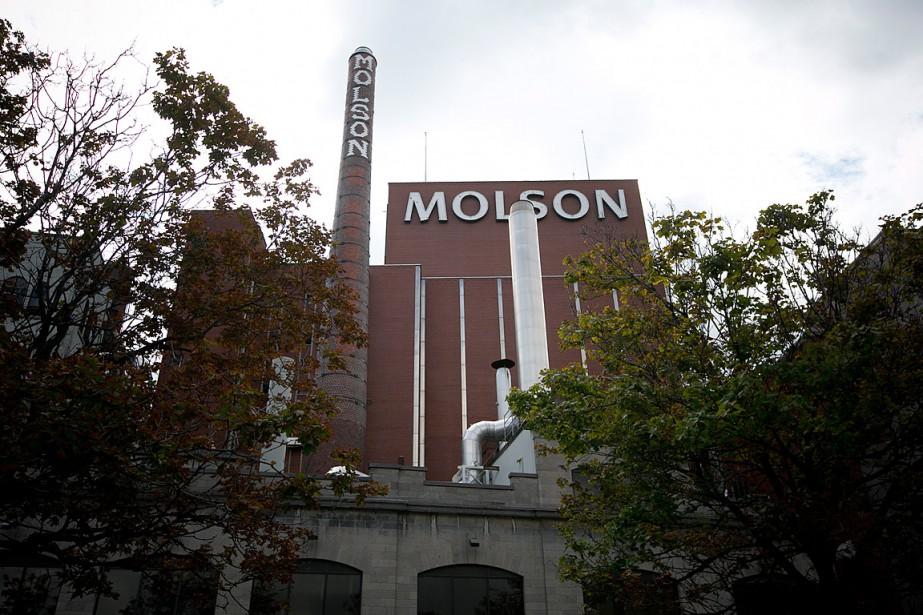 La brasserie Molson sur la rue Notre-Dame, à... (PHOTO FRANÇOIS ROY,)