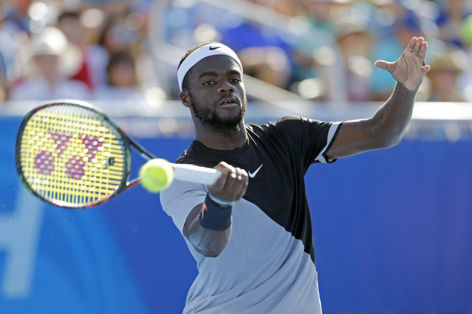 Frances Tiafoe... (PHOTO AP)