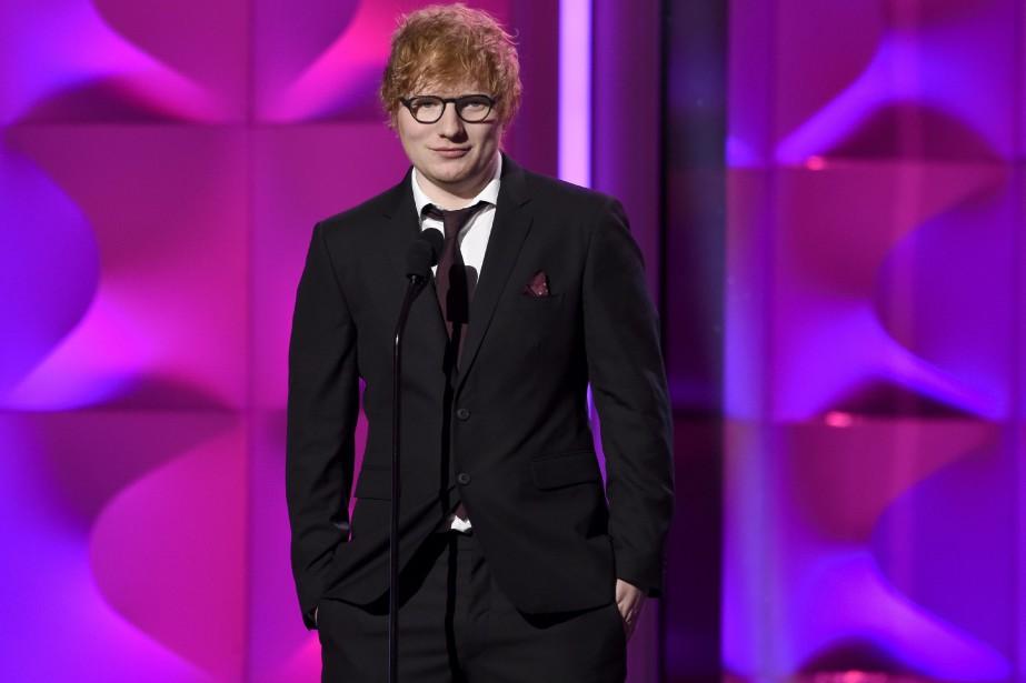 Ed Sheeran... (Photo Chris Pizzello, archives Invision/AP)