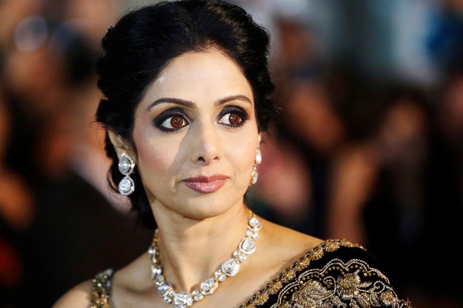 L'actrice Sridevi Kapoor lors de la présentation du... (PHOTO ARCHIVES REUTERS)