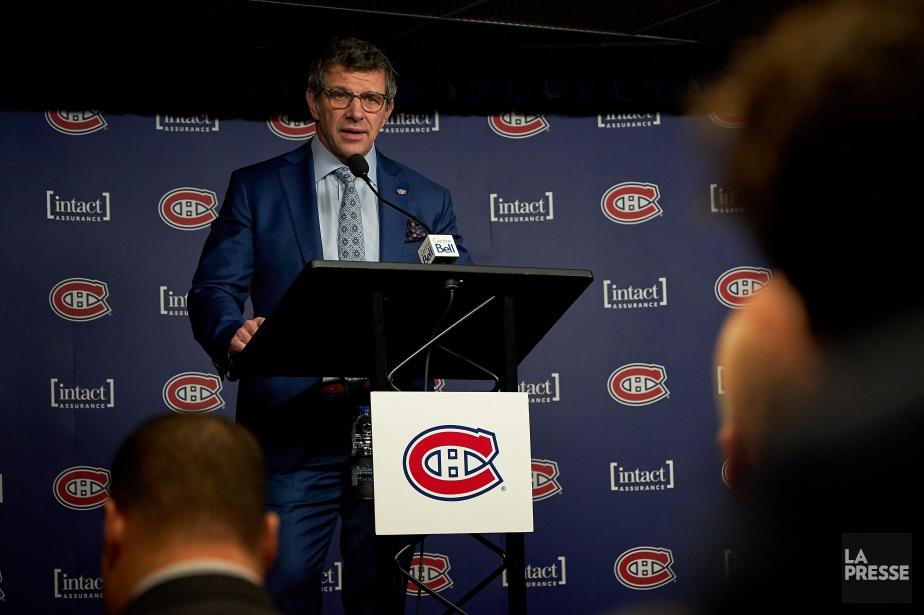 Marc Bergevin est bien en poste en vue... (PHOTO ANDRÉ PICHETTE, LA PRESSE)