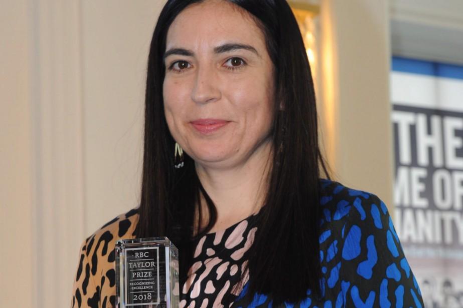 Tanya Talaga... (Photo La Presse canadienne)